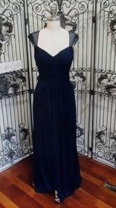 Alfred Sung midnight D75 size 10 $242 dress